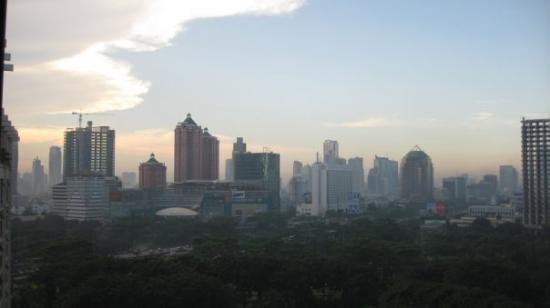 จาการ์ตา, อินโดนีเซีย: Jakarta skyline from my window - amazing.