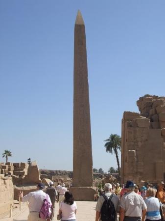 ลักซอร์, อียิปต์: ahhh, my first pointy thing!