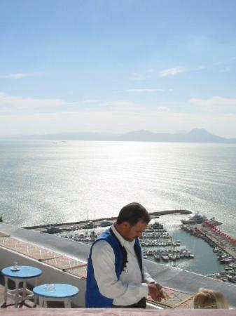 Sidi Bou Said, ตูนิเซีย: سيدي بو سعيد