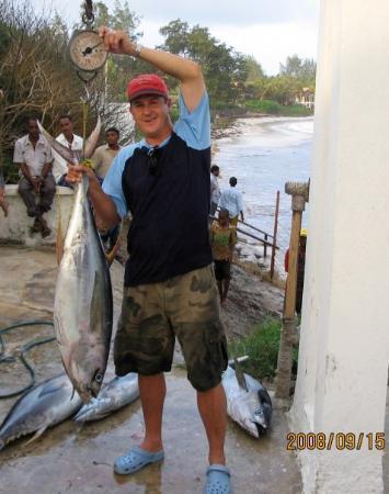 Malindi, เคนยา: Mooi Yellow fin tuna in Milindi (Sept '08)