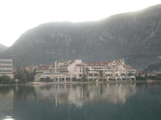 The bay of Kotor, Montenegro early in the morning