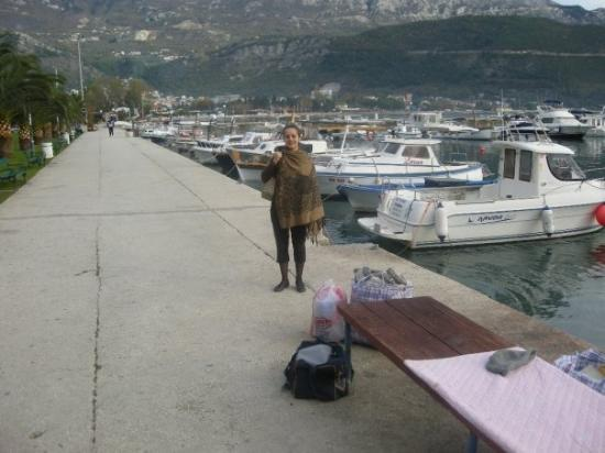 The marina in Budva, like 50 meters from our hotel