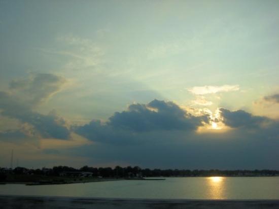 โอเชียนซิตี, แมรี่แลนด์: sunset @ OC