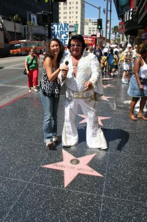 Hollywood Walk of Fame: J'ai même rencontré ELVIS