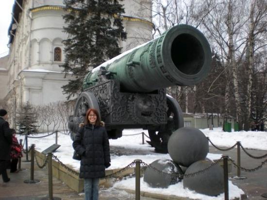 จตุรัสแดง: The Tsar's Cannon - yes, it was huge!