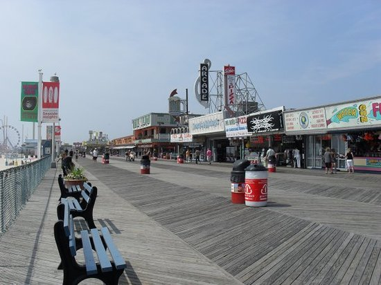 Сисайд-Хайтс, Нью-Джерси: Seaside Heights...the boardwalk