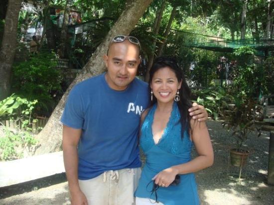 Philippine Tarsier and Wildlife Sanctuary: the brother of  Cesar Montano..i 4got his name