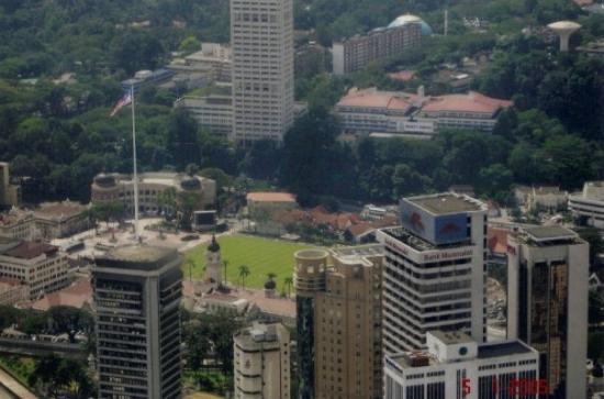 หอคอยกัวลาลัมเปอร์: View of Kuala Lumpur