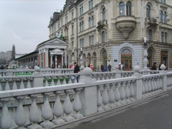 ลูบลิยานา, สโลวีเนีย: abajo habian unos baños publicos bieeeenn chevreees!!