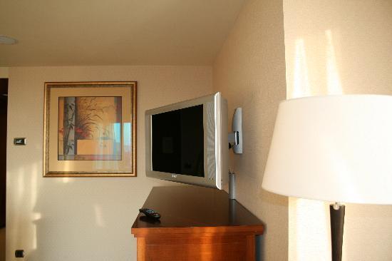 Hotel Okura Amsterdam: Big tv