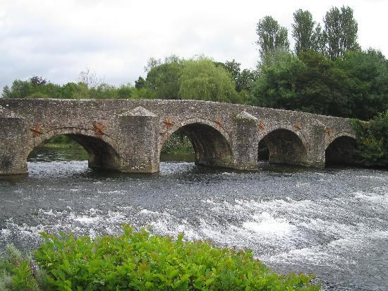 Fishermans Cot Tiverton: 川