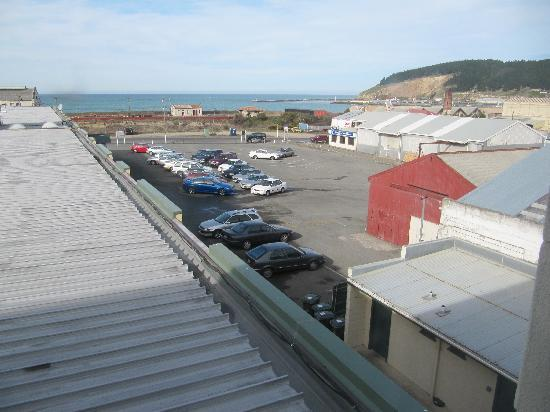 Brydone Hotel Oamaru: View of the car park
