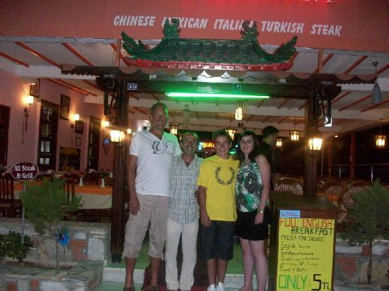 Arya II: Pagoda Restaurant with Sami