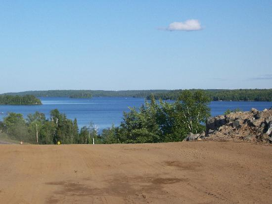 View of Lake Michigamme
