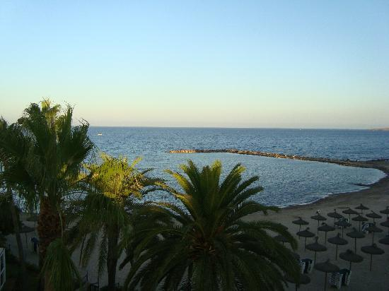 Aparthotel Cap de Mar: view from our room 301
