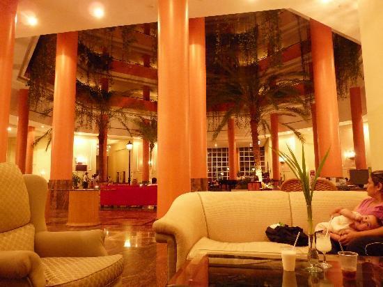 Hesperia Isla Margarita: el lobby
