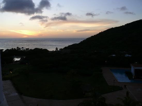 Hesperia Isla Margarita: un buen atardecer