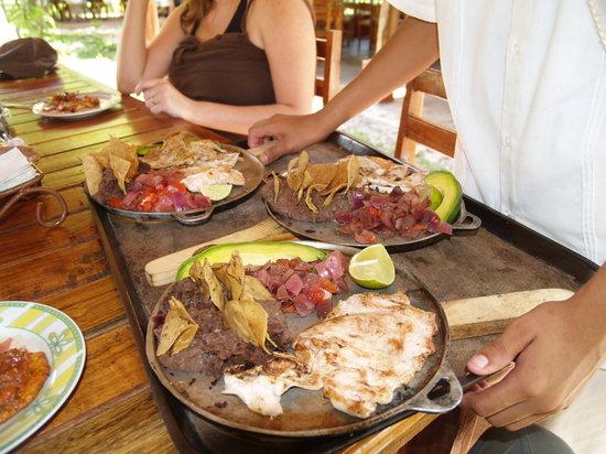 Cenote San Ignacio : Great local specialties.