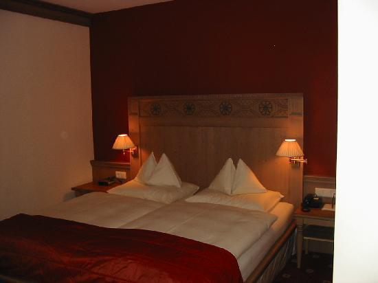 Hotel Bismarck: camera da letto Hotel
