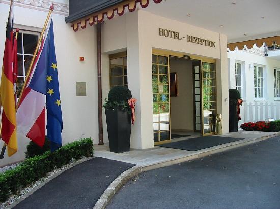 Hotel Bismarck: ingresso reception