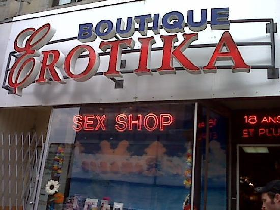 Montreal sex shops