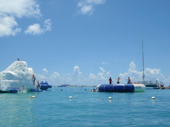 Fury Water Adventures Key West: Just some of the fun and games!