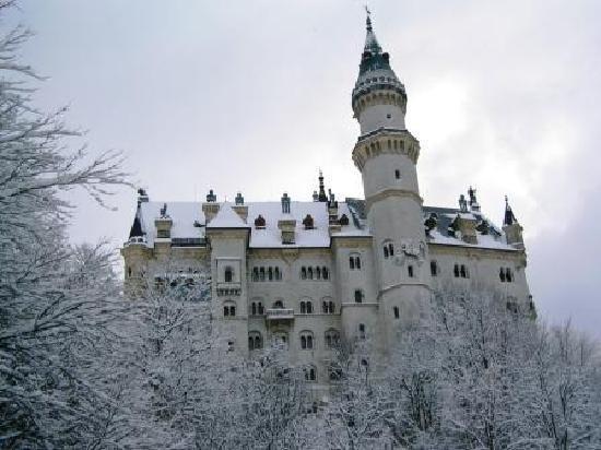 Hohenschwangau, เยอรมนี: 白鳥城