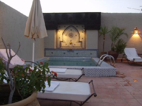 Riad le Clos des Arts : la piccola piscina
