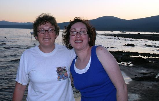 Kings Beach, Californien: Sisters reunite