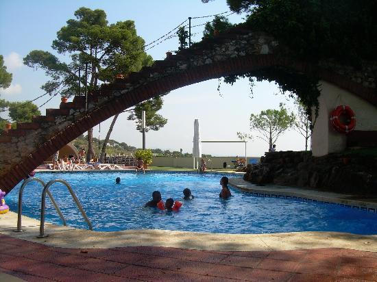 Castelldefels, Hiszpania: the swimming pool