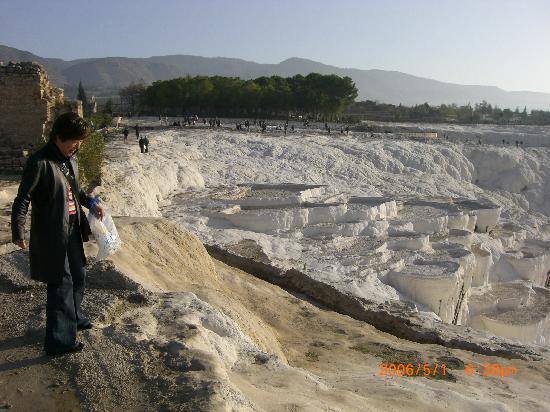 Pamukkale Thermal Pools: 実際の方が感動します。