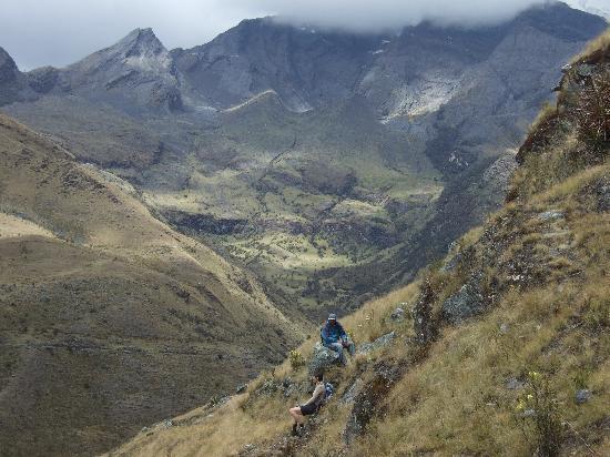Yanama, Peru: View from the Inca ruines