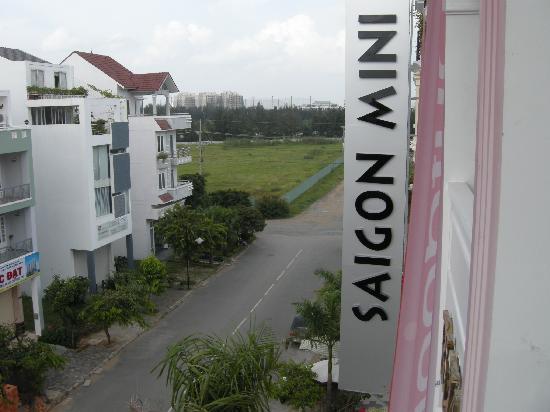 Saigon Mini Hotel 7 : vue du balcon