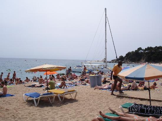 Evenia Olympic Park: Lloret de Mar Beach