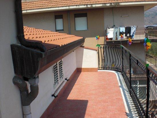 Ciuscia affittacamere: terrazza