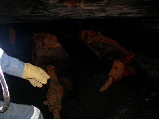 Tour-Ed Coal Mine: coal mover