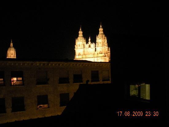 Hotel Rua: vista nocturna desde la habitación