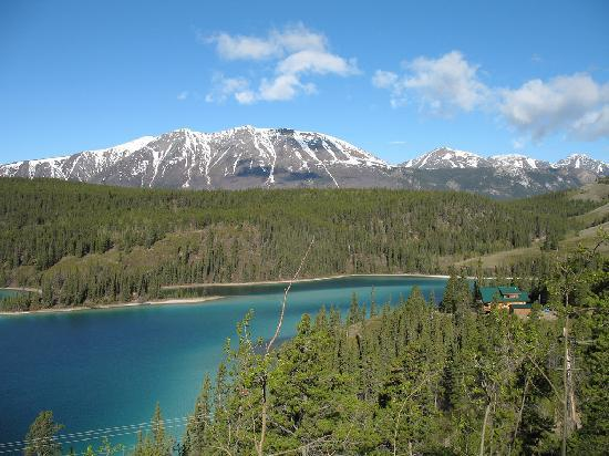 Yukon, Canadá: Along the South Klondike Highway after leaving Whitehorse then Carcross