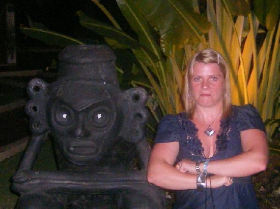 BlueBay Villas Doradas: Mrs having fun.....strange haha
