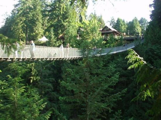 ‪فانكوفر, كندا: Capilano Bridge‬