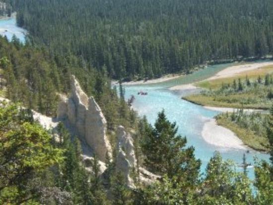 แบมฟ์, แคนาดา: Tunnel Mountain - hoo doos