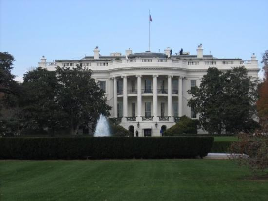 La casa bianca... The White House