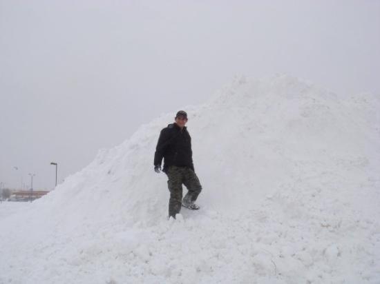 ดีทรอยต์, มิชิแกน: Montaña de nieve Detroit MI
