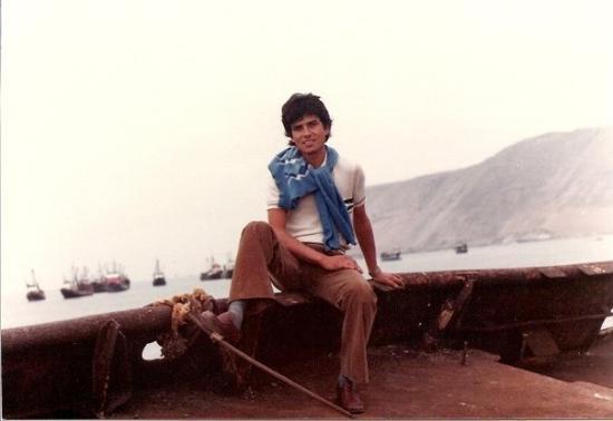 อีกีเก, ชิลี: En  Iquique.   Parece que  1979 ó 1980. Da lo mismo: un cabrito.