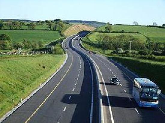 Cork to Dublin M8 Motorway
