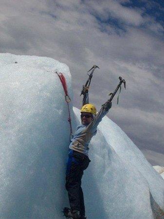 El Chalten, Argentina: Lo unico que me importaba era festejar parece! jaja