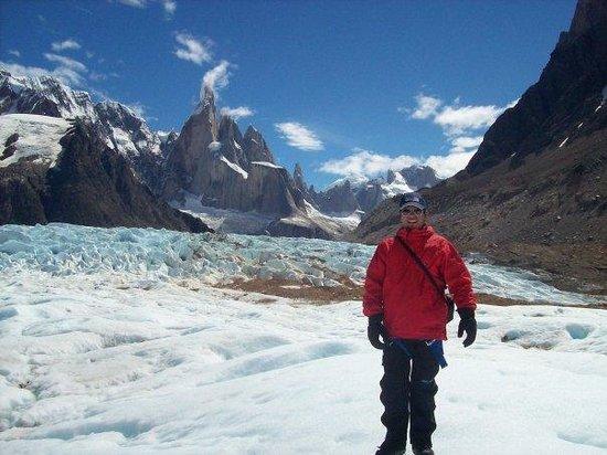 El Chalten, Argentina: Dicen que despues de la tormenta siempre sale el sol! Se nublo todo y a la hora el cielo estaba