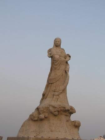 Tainan, Taiwan: 林默娘公園  林默娘就是天后娘娘