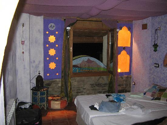 Casa El Pelaire : The Moroccan inspired room