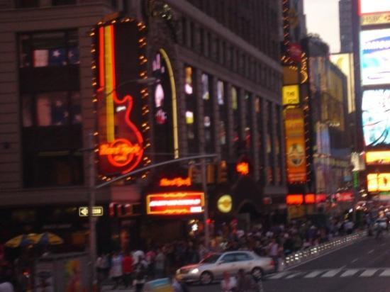 Hard Rock Cafe: New York, État de New York, États-Unis
